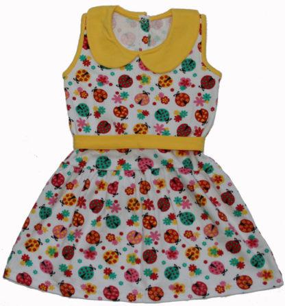 Платье д/д, желтый р.86-92,110-116 (1039)