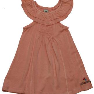 Платье для девочки, персик р.80,86,92 (36582)NJW
