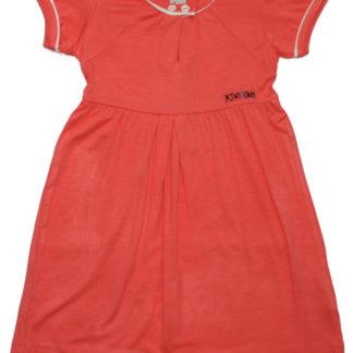 Платье д/д, коралловый, р.98,104,110,116 (36585)