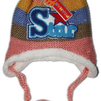 Шапка Star, персик (95022)