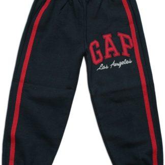Спорт.штаны «GAP»(начес), тем.синий р.6 лет