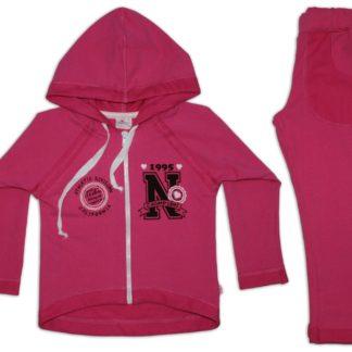 Спортивный костюм для девочки, малиновый, р.104 тм Фламинго