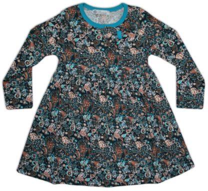 Платье для девочки «абстракция», сине-голубой, р.86,110, Deniz