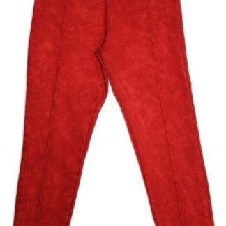 Леггинсы ,красный, р.134/152 (215481)