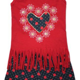 Костюм для девочки с шортами «бахрама», красный, р.98 (216594)