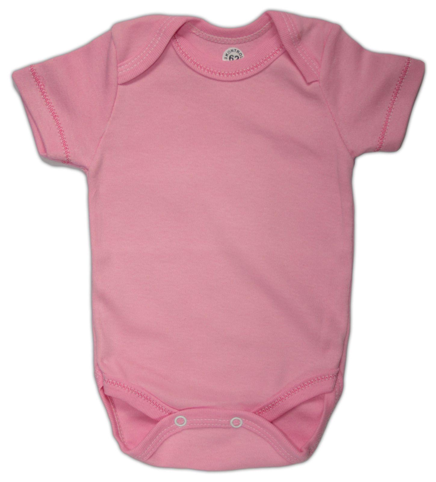 Боди для новорожденной розовый