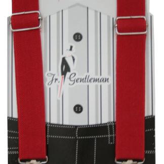 Подтяжки Gentleman, красный (95873)