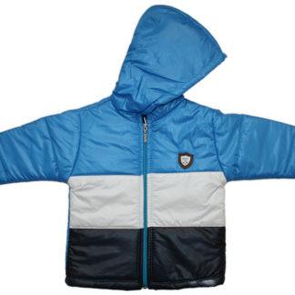 Куртка длч мальчика, голубо-белый, р,104/116 (223373)