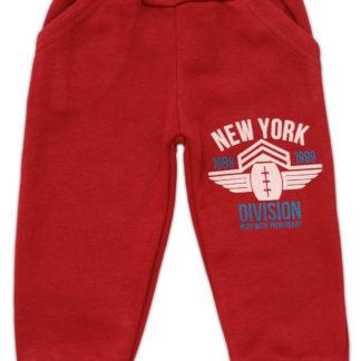 Спортивные штаны  для мальчика (начес), бордовый р,86/116 (231067)
