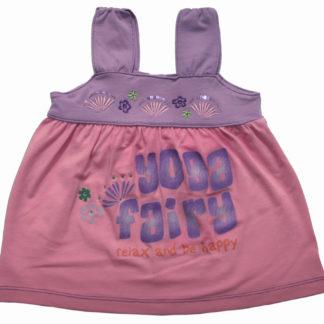 Майка для девочки, сиренево-розовый р.80,86,92 (33069) NJW