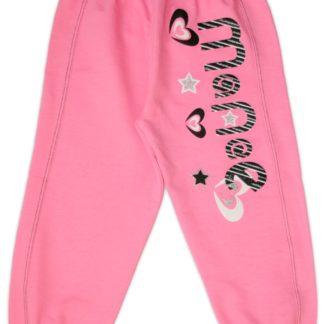 Спортивные штаны для девочки, розовый, р.110/128