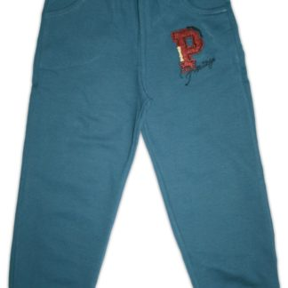Спортивные штаны  для мальчика «Р» синий, р.98/116