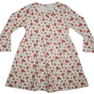 Платье для девочки, молочный, р.92/128