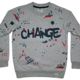 01-07808 Реглан Change, серый р.110/128