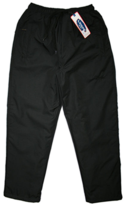 Штаны плащевые для мальчика, черный р. 140/176 Linger